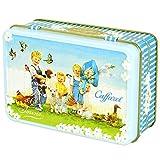 カファレル Caffarel リバイバル小缶 ブルー チョコレート 袋付き