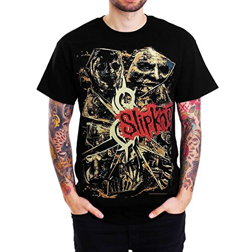 Slipknot ALL HOPE IS GONE Sketched Graphic Mens Black T Shirt (Medium (Chest 19
