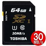 東芝 SDXC UHS-I 64GB Class10 30MB/sToshiba 海外パッケージ品 [PC]