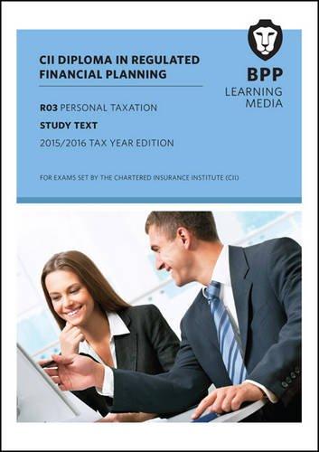 CII R03 Personal Taxation (Study Text)