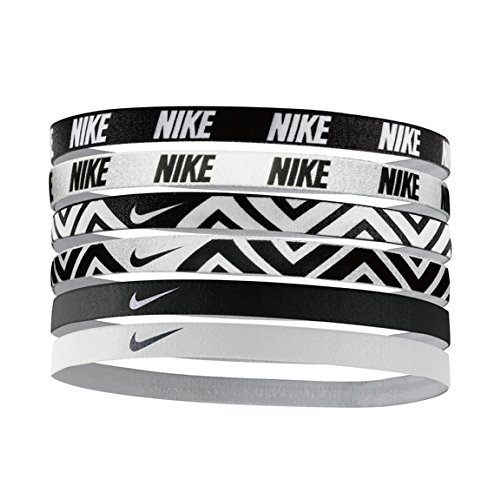 Nike Printed Headbands Assorted 6pk (One Size Fits Most