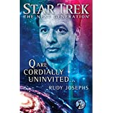 "51ZrlLcD4mL. SL160 OU01 SS160  Star Trek: The Next Generation: Q are Cordially Uninvited... (Kindle Edition) newly tagged ""star trek"""