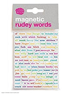 Magnetic Rude Words