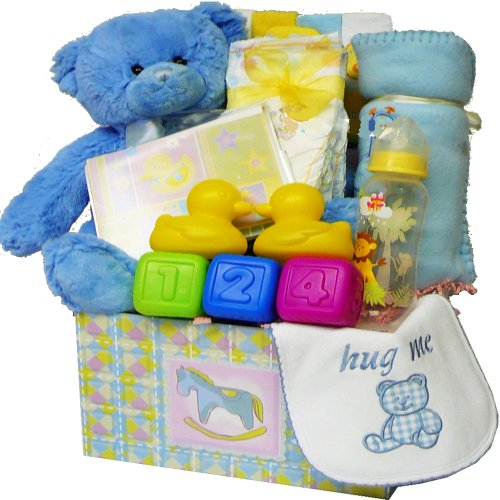 Sweet Baby Care Package Gift Box  Teddy Bear