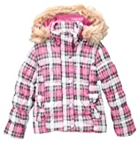 Dollhouse Girls Plaid Quilted Coat