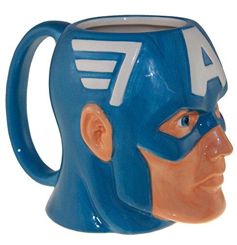 Officially Licensed Marvel Superhero Molded Mugs 16oz