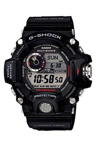 腕時計 カシオ Casio Men's GW-9400-1CR Master of G Digital Display Quartz Black Watch【並行輸入品】