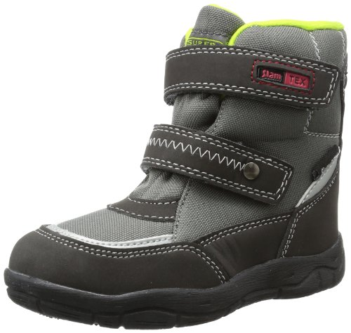 Slamtex Boys 367073 Snow Boots Gray Grau (grey 204) Size: 23
