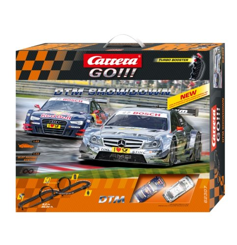 Carrera Go - 20062307 - Radio Commande, Véhicule Miniature et Circuit - DTM Showdown