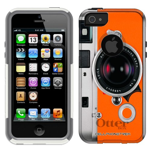 Special Sale Otterbox Commuter Series Leica M7 Hermes Hybrid Case for iPhone 5 & 5s