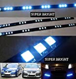 Renault Laguna 01-07 LED Strip Light, DRL Driving Beam , Audi Style Lights, 15 High powered LEDS, Easy Install. YOU WILL RECEIVE TWO STRIPS