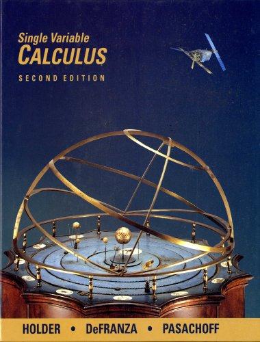 Single Variable Calculus (Mathematics)