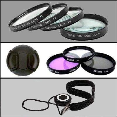 Professional Filter Kit For Nikon D80, D90, D200, D300 and D700