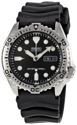 Seiko Men s SKX171 Black Dial Diver Watch - xtgdgbcghbxc