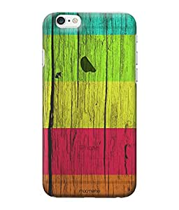 Wood Stripes Ensemble - Clear Case for iPhone 6S