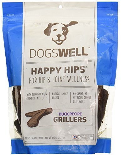 Dogswell Happy Hips Duck Grillers 13.5 oz - USA Made by Dogswell (Dogswell Duck Grillers compare prices)