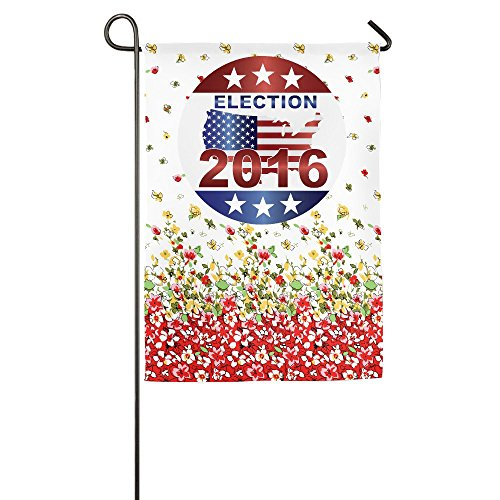 Show Time Presidential Election 2016 Decorative Garden Flag Pub Banner 12*18inch