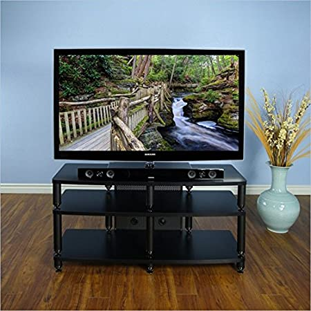 VTI 35000 Series Pro Audio and Video Stand in Black