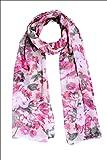 Selfiwear SW-1502 Beautiful Floral Stole