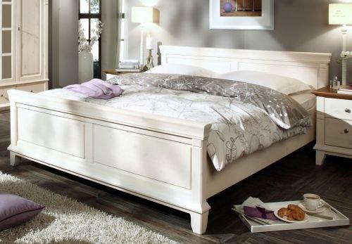 Massives Stollen-Bett Provence 90/100/160/180/200 x 200 cm Größe Breite 160 cm