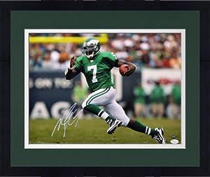 Framed Signed Michael Vick Philadelphia Eagles Photo - 16x20 Witness - JSA Certified... by Sports Memorabilia