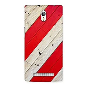 Enticing Diagnoal Red Print Back Case Cover for Oppo Find 7