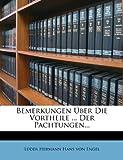 img - for Bemerkungen  ber Die Vortheile ... Der Pachtungen... (German Edition) book / textbook / text book