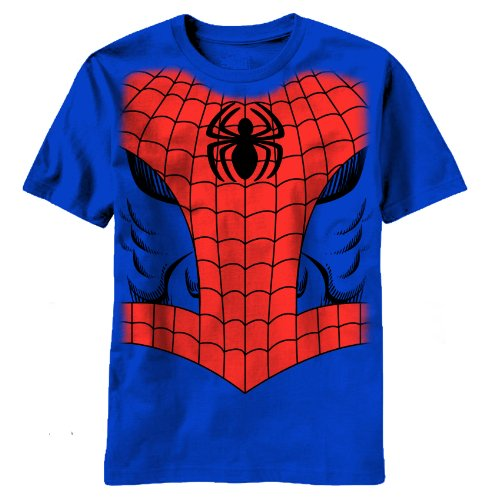 Officially Licensed Marvel Comics Spiderman Costume T-Shirt