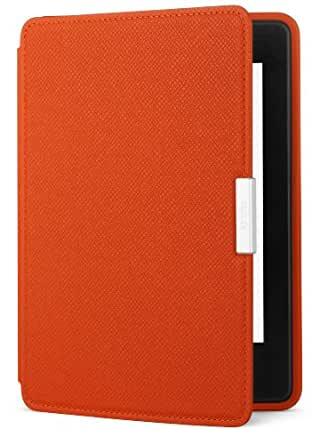 Amazon Kindle Paperwhite Leather Cover, Persimmon (does not fit Kindle or Kindle Touch)