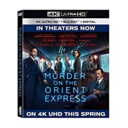 Murder On The Orient Express [4K Ultra HD + Blu-ray]