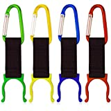 ZITRADES 4pcs/lot Convenient Carrying Alloy Water Bottle Holder Carabiner Hook Buckle by ZITRADES