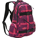 BQ6618A Military Style Canvas Backpack School Bag, Hiking Travel Camping Green