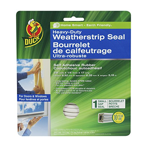 duck-brand-282439-heavy-duty-self-adhesive-rubber-weatherstrip-seal-for-small-gap-3-8-inch-x-1-4-inc