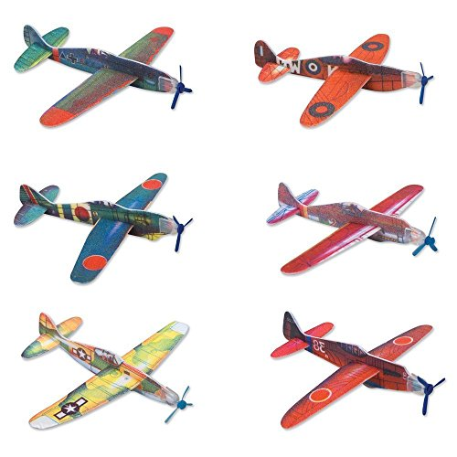 FUN LAVIE - 24 pcs Foam Glider Assortment Flying Glider Plane - 1