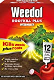 Weedol Rootkill Plus Liquidose 12 Sachets Kills Weeds & Roots Strong Weedkiller