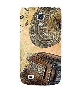 Gramophone Style 3D Hard Polycarbonate Designer Back Case Cover for Samsung Galaxy S4