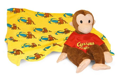 curious george blanket