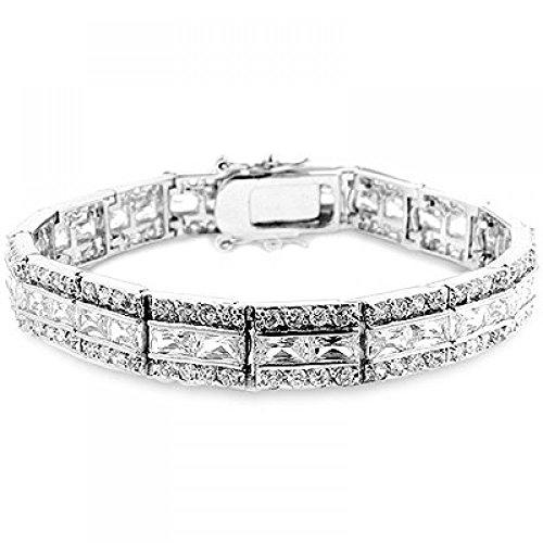 Balboa Cubic Zirconia Bracelet