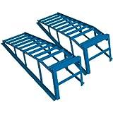 Cartrend 50156 Set de rampes ultra larges et massives, charge maximale par paire 2 t, largeur des pneus maximale 225 mm