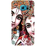For Samsung Galaxy S6 Edge Dekh Bhai Punjabi Hu Back Ke Rahiyo ( Dekh Bhai Punjabi Hu Back Ke Rahiyo, Good Quotes, Cartoon, Pattern ) Printed Designer Back Case Cover By TAKKLOO