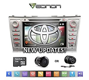 eonon d5164z updated interface for 07 11 toyota camry with dual mount backup. Black Bedroom Furniture Sets. Home Design Ideas