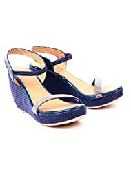 She Walk Women's Resin Wedges - B018XPAR74