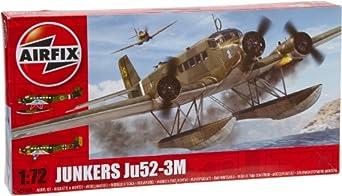 Airfix A05008 Junkers Ju52-3M Model Building Kit, 1:72 Scale