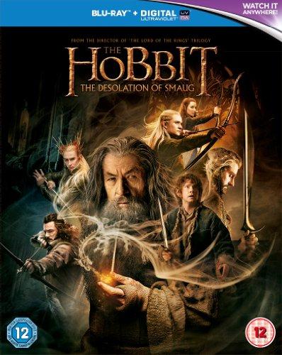 The Hobbit:The Desolation of Smaug/ホビット:竜に奪われた王国 UK版Blu-Ray(リージョンフリー 日本語字幕・音声)