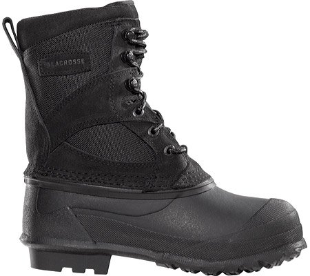 Lacrosse Youth 7 inch Pine Top Pac Boots, BLACK, 6
