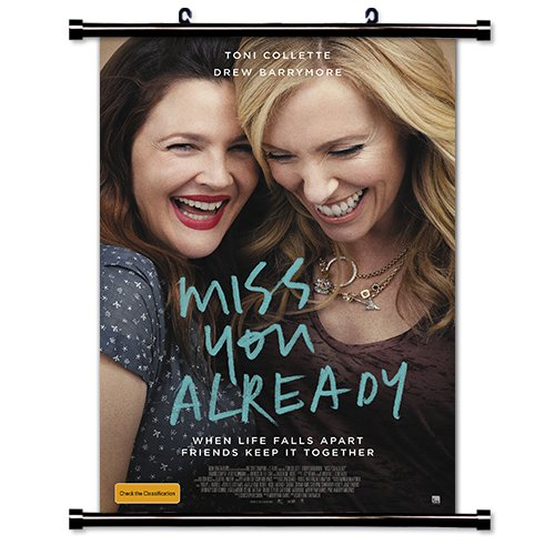 Miss You Already 2015 Movie Fabric Wall Scroll Poster (16x23) Inches