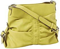 Jessica Simpson Trish Small Cross Body,Lemon,One Size