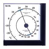 TANITA 温湿度計 ブラック TT-536-BK