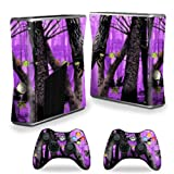 Mightyskins Protective Vinyl Skin Decal Cover For Microsoft Xbox 360 S Slim + 2 Controller Skins Wrap Sticker... - B00CXPHIOQ