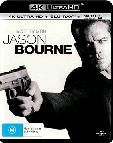 4K Blu-ray : Jason Bourne (2 Discos)